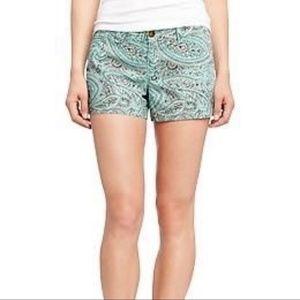 Old navy paisley shorts
